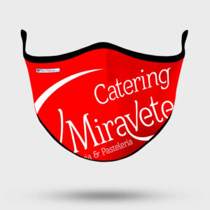 Mascarilla Personalizada Catering Miravete