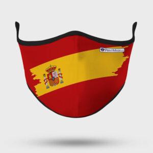 Mascarilla modelo Bandera España Roja