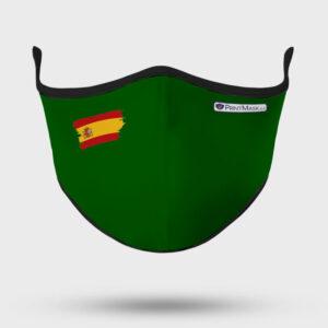 Mascarilla modelo Bandera España Verde